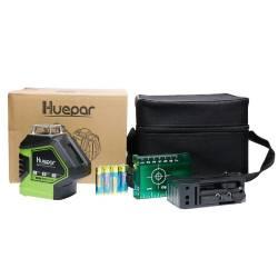 Packaging Niveau laser Huepar 621CG