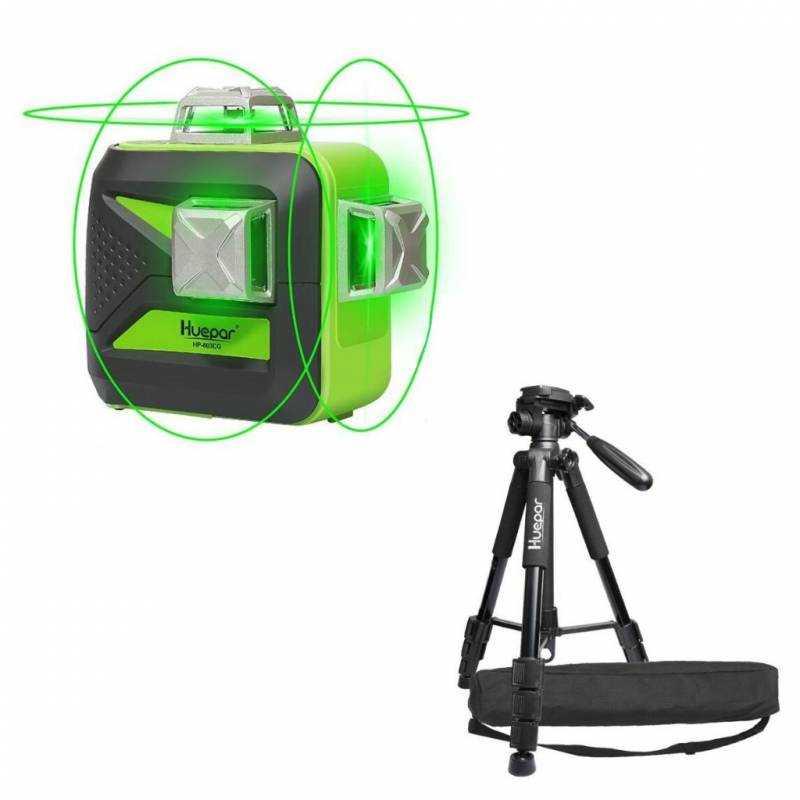 Niveau laser Huepar 603CG + Trepied