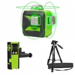 Niveau laser Huepar 603CG + Trepied + Recepteur