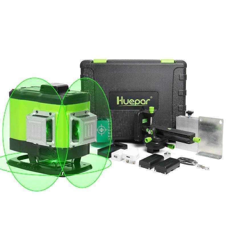 Niveau laser carrelage Huepar 503DG