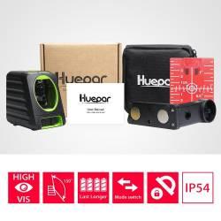 Packaging niveau laser croix Huepar BOX-1R
