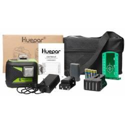 Packaging Niveau laser Bluetooth Huepar 603CG-BT