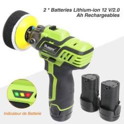 Batteries Ponceuse Huepar PS08-2120