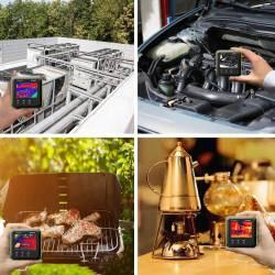Utilisation camera thermique infrarouge HTi80P