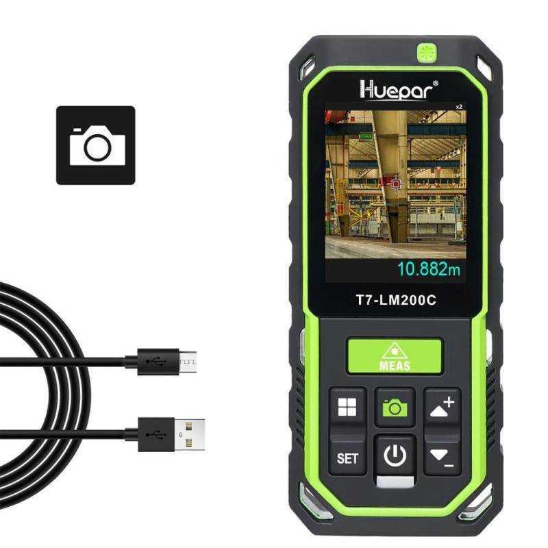 Telemetre laser Bluetooth LM200C