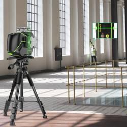 Niveau laser Huepar S04CG Avec récepteur LR6RG