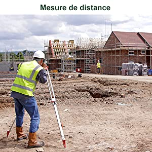 Mesure de distance par laser optique Huepar