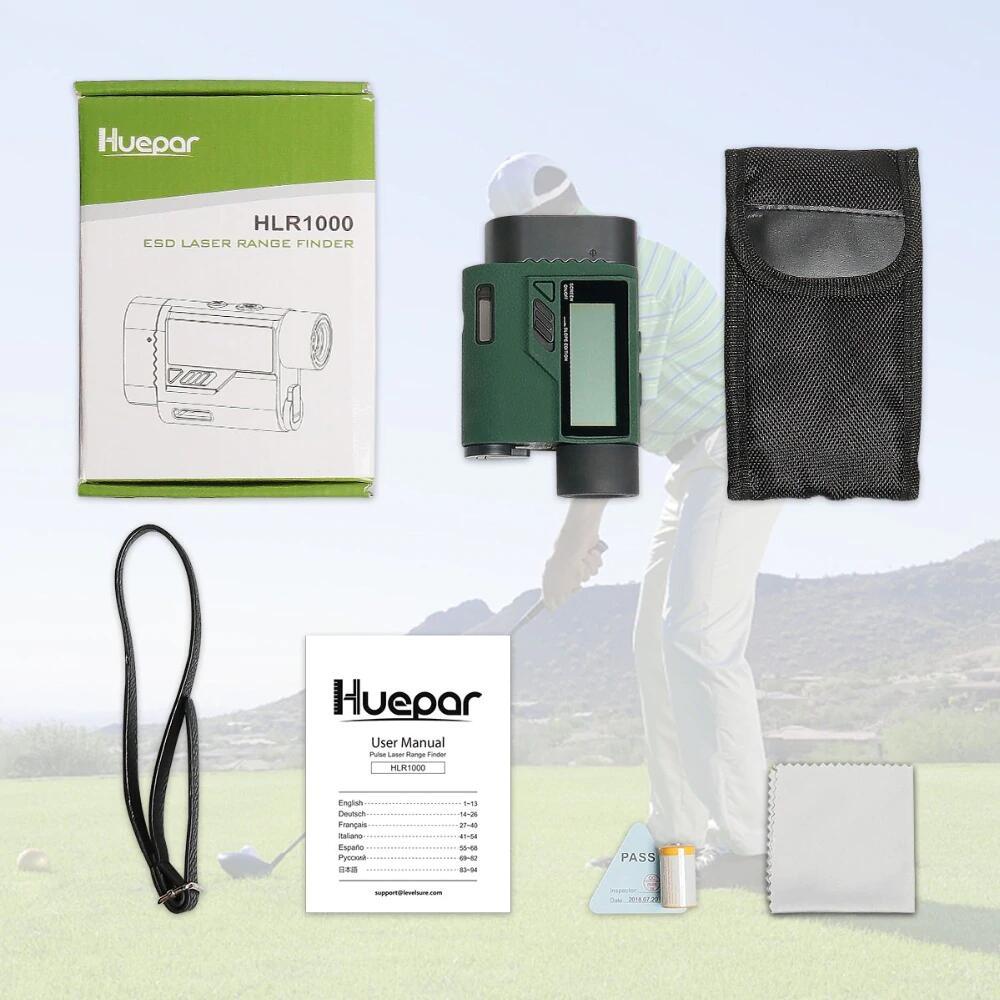 Packaging télémètre laser Huepar HLR1000
