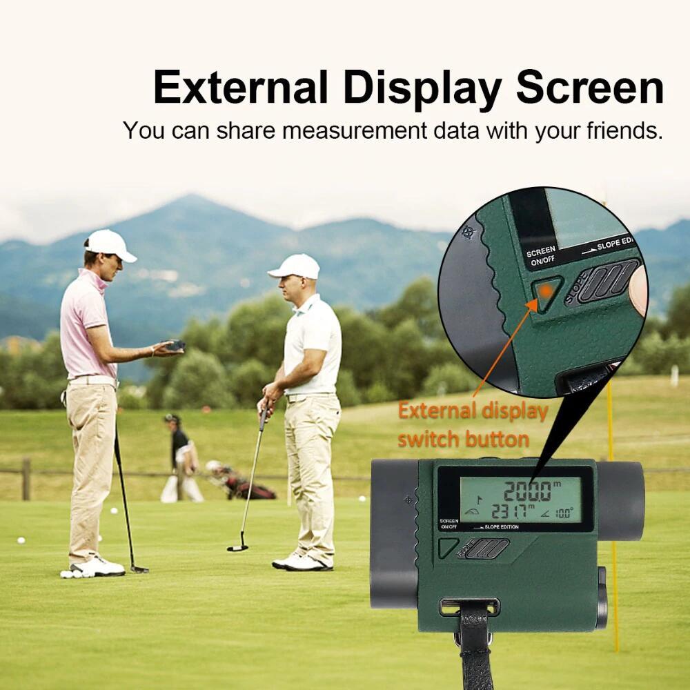 Télémetre avec écran LCD externe