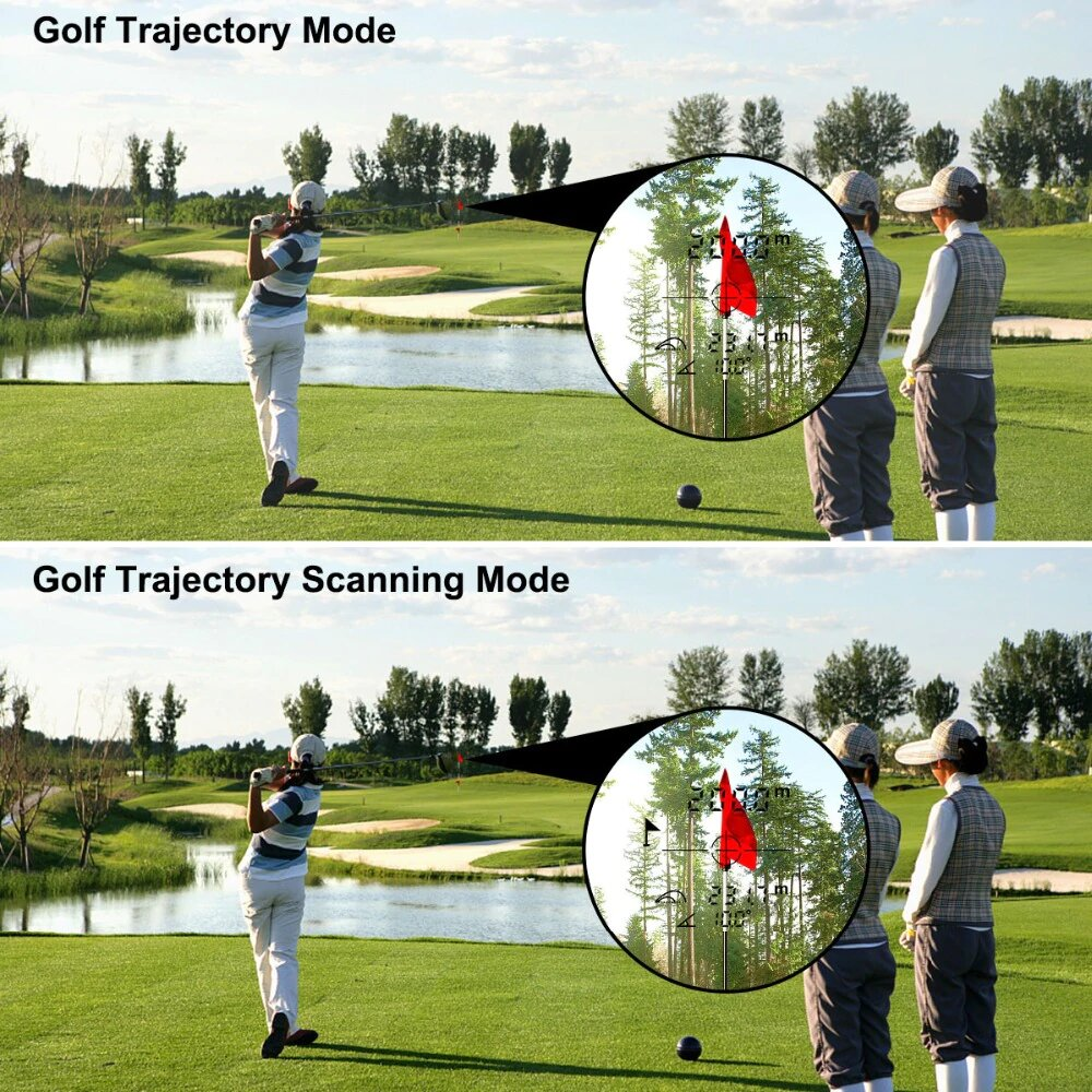 Télémetre laser pour la golf