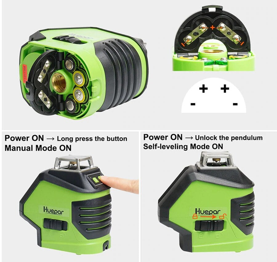 Laser 621CG simple d'utilisation