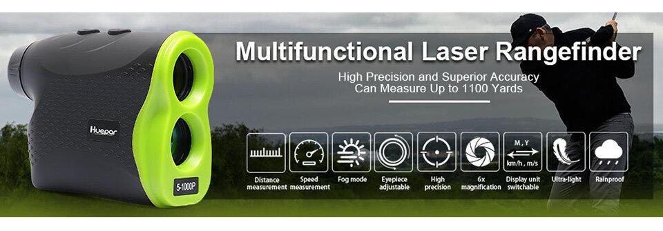 Télémetre laser de golf multifonction