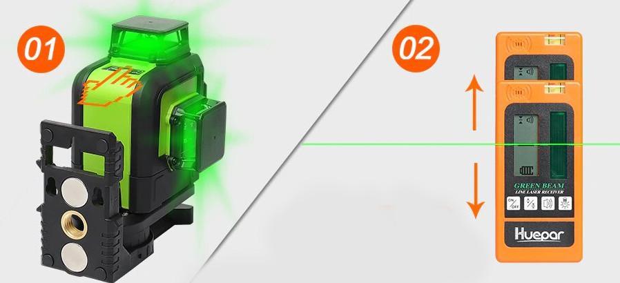 récepteur pour niveau Laser 902CG