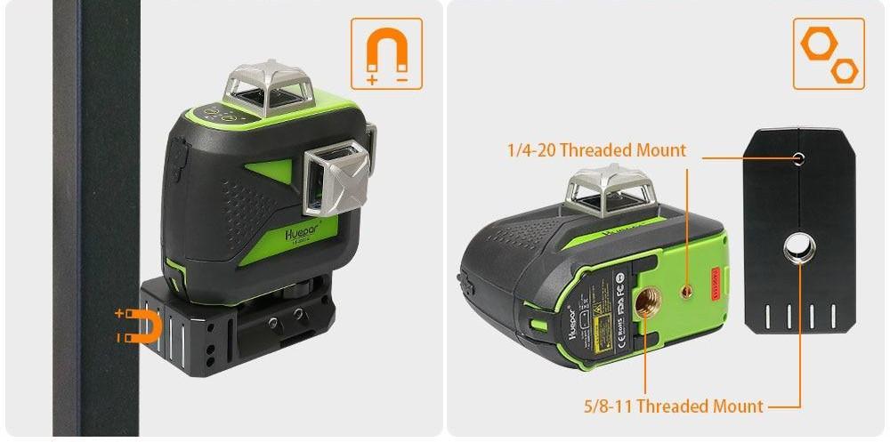 Support pour niveau laser 602CG