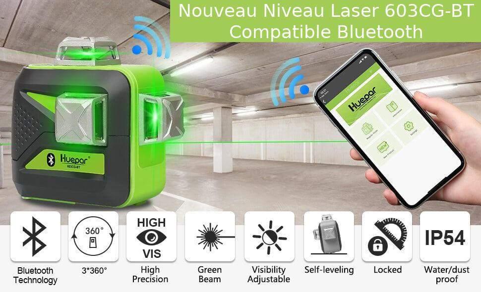 Niveau laser bluetooth